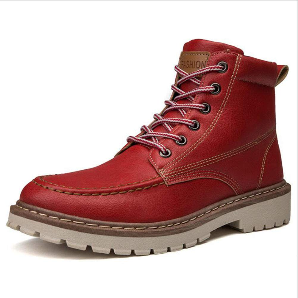 50aa074755a99 XUE Men's Boots,PU,Fall Winter,Retro Low-Top Boots,Personality Tooling Boots,  Outdoor Military Boots,Waterproof,Ankle Boots,Hiking Shoes,Desert ...