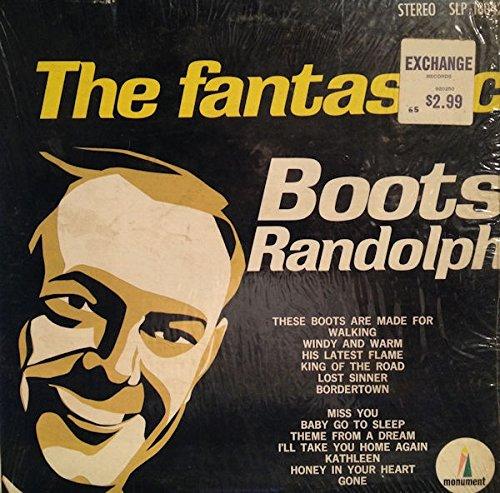 - Boots Randolph The Fantastic Boots Randolph Original Monument Records Stereo release SLP 18042 Jazz Saxophone Vinyl (1966)