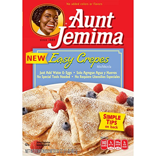 Aunt Jemima Easy Crepe Mix, 2 LB Box, 12 Boxes
