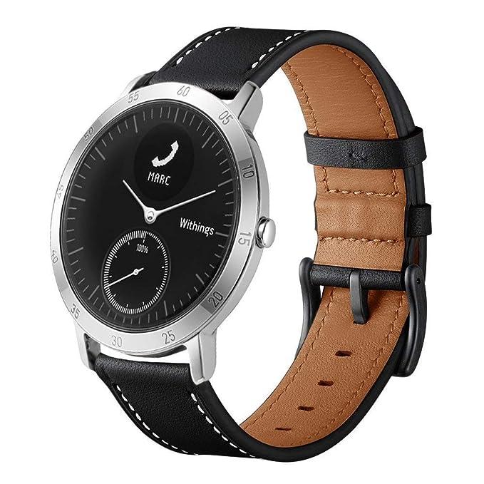 Reloj Inteligente LeafBoat Compatible con Withings Steel HR ...