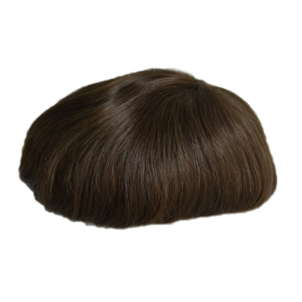 All Virgin Pu Mens Extension Toupee Hairpiece Hair Indian Extensions