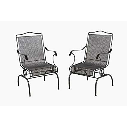 Amazon Com Arlington House Jackson Action Patio Chair 2 Pack
