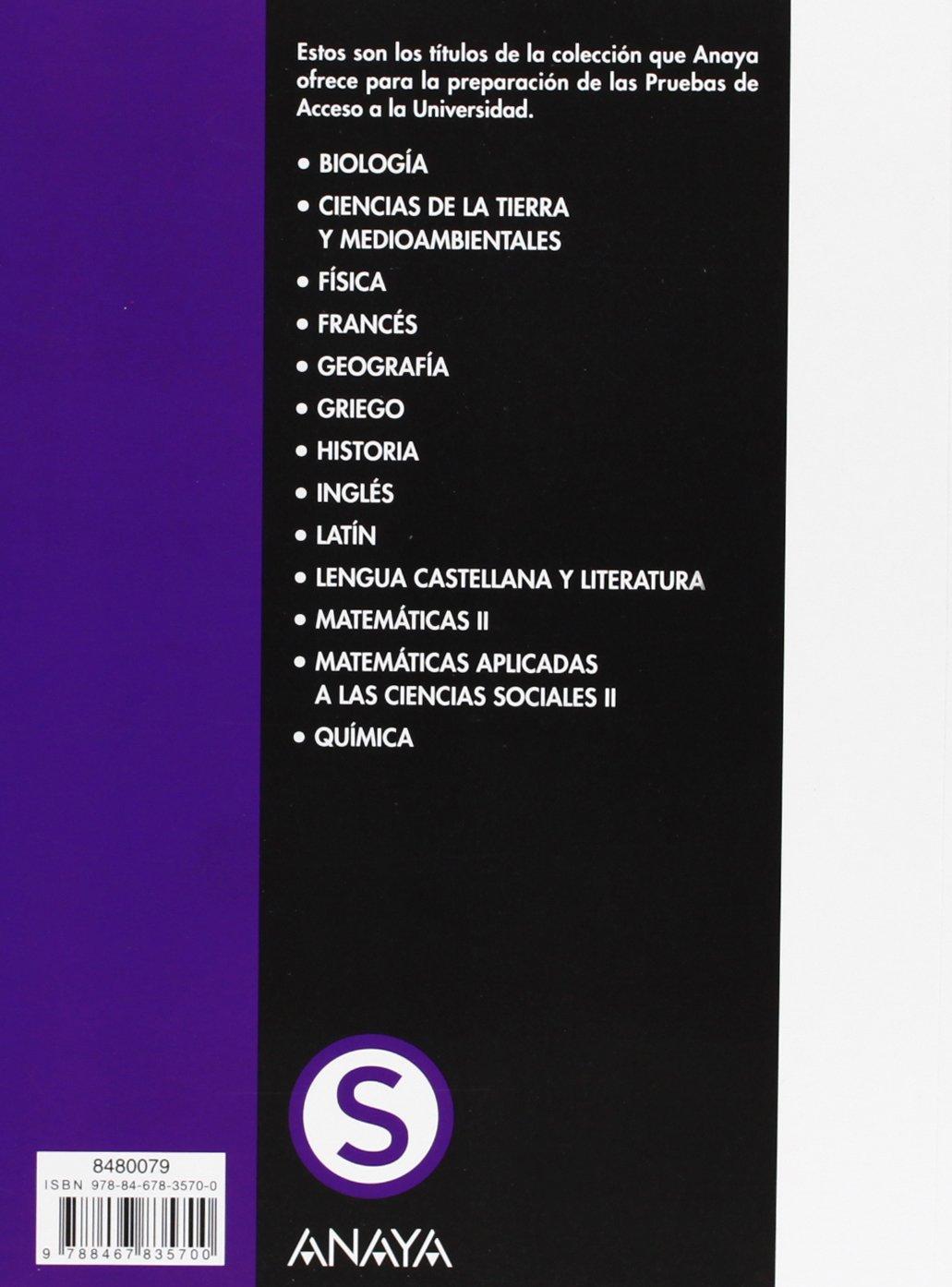 Física. Pruebas de Acceso a la Universidad. Selectividad/PAU 2012: Amazon.es: García Álvarez, M.ª Luz, Platero Muñoz, M.ª Paz: Libros