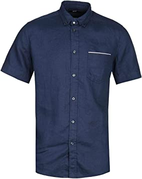 Diesel R-Emiko New Camicia Camisa de Manga Corta Azul Marino: Amazon.es: Juguetes y juegos