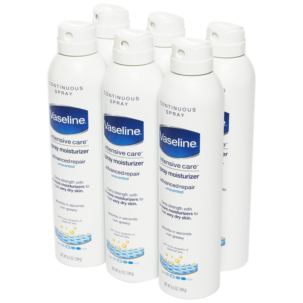 vaseline intensive care spray moisturizer