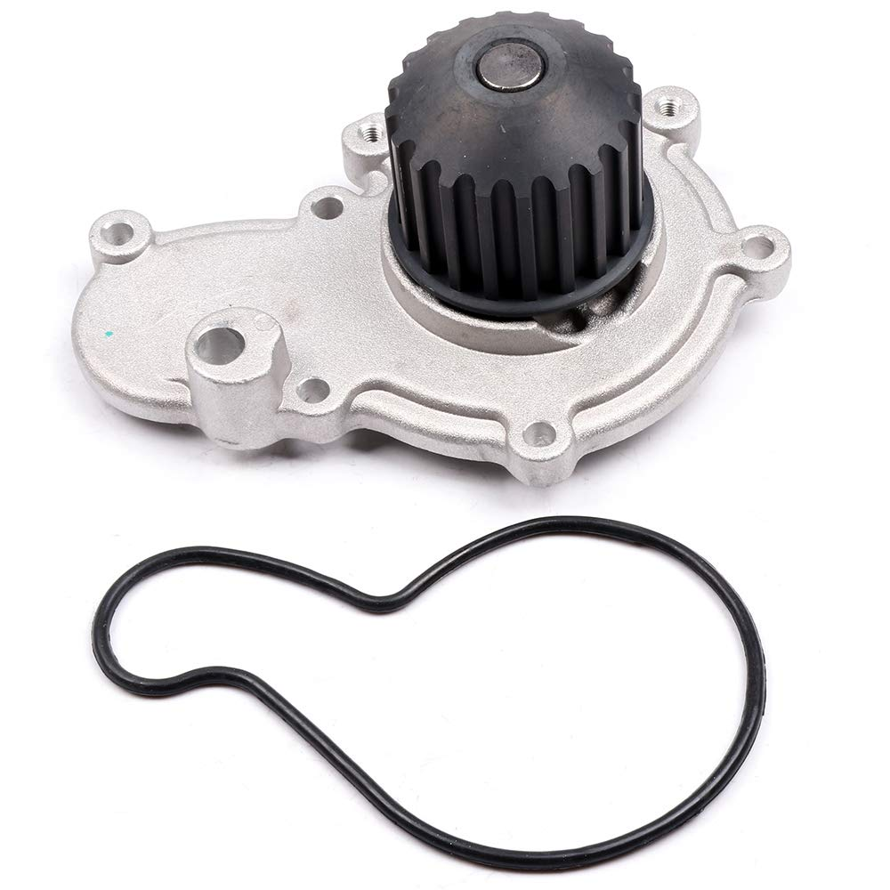 ECCPP Water Pump with Gaskets AW7150 Pump Fit for 2001 2002 Chrysler Neon 1997 1998 1999 Dodge Avenger 1999 2000 Dodge Stratus 1998 1999 Mitsubishi Eclipse 1997 1998 Plymouth Breeze 110443-5211-0932150272