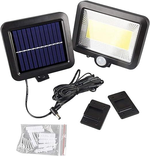Solar Power Lamp COB LED PIR Motion Sensor Outdoor Street Security Wall Lighting