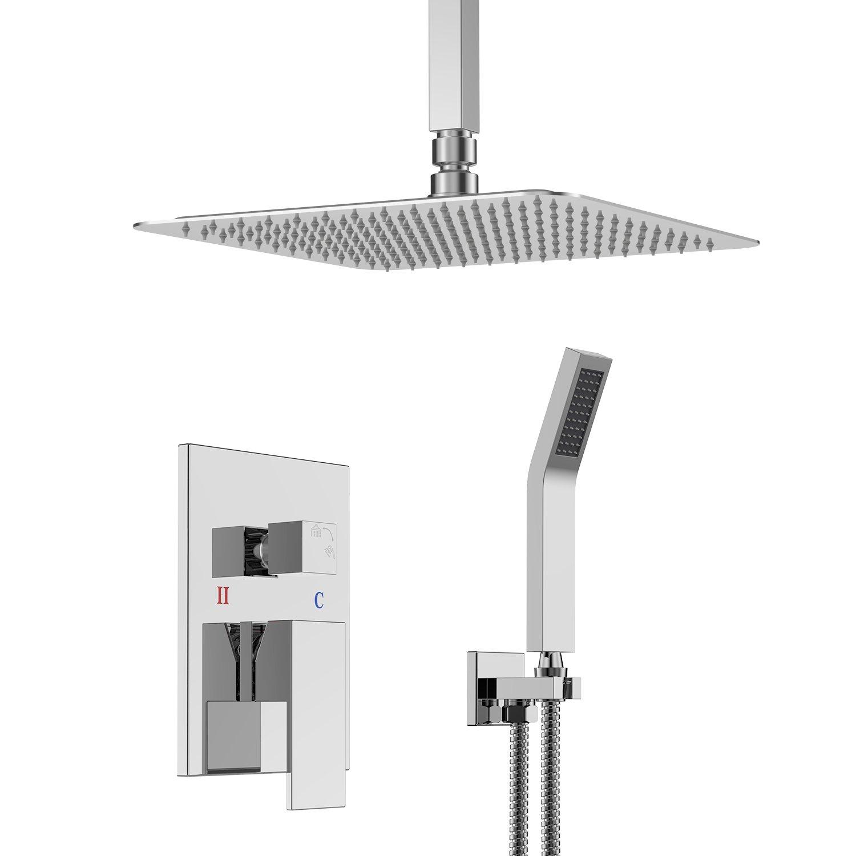 SR SUN RISE SRSH-C1003 Ceiling Mount Bathroom Luxury Rain Mixer ...