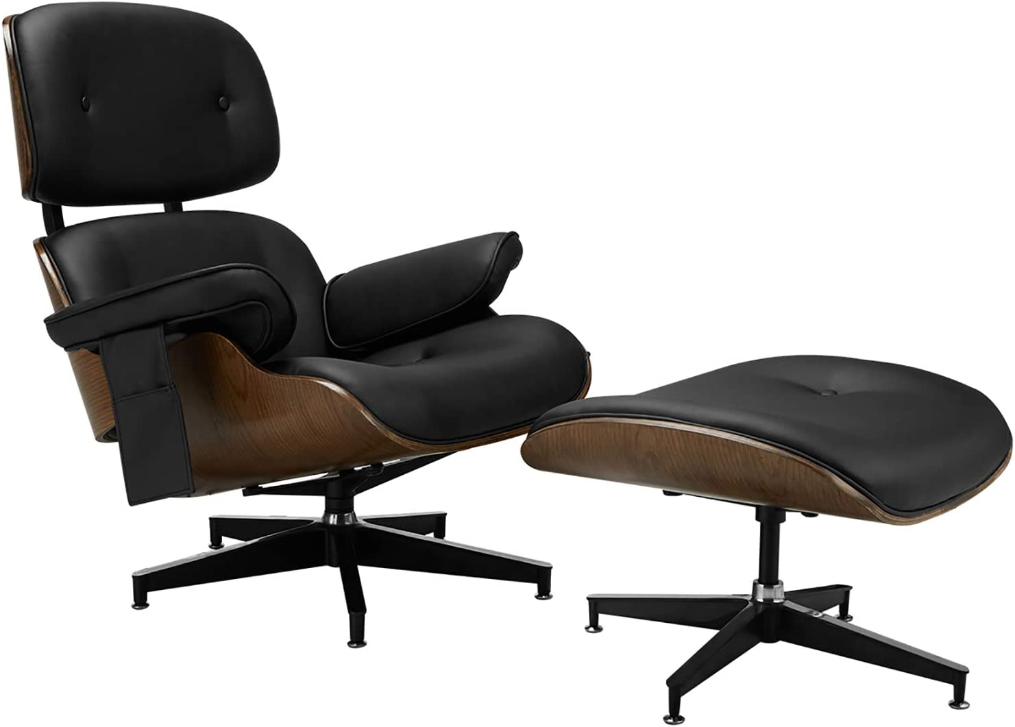 best Mid Century Lounge Chair with Ottoman