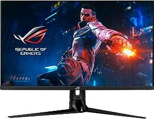 ASUS PG329Q Monitor de Gaming ROG Swift PG329Q: 32 Pulgadas, WQHD (2560 x 1440), Fast IPS, 175 Hz, 1 ms (GTG), Extreme Low Motion Blur Sync, G-Sync Compatible, DisplayHDR 600