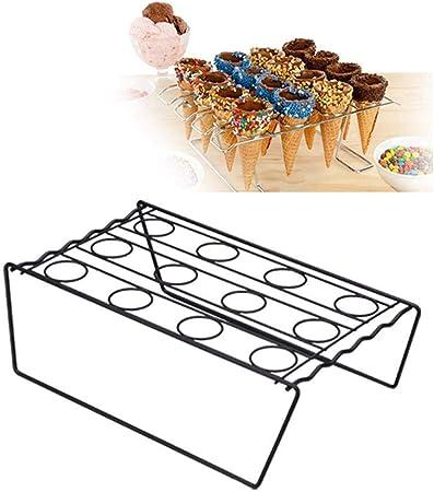 Per Feste Di Porta Coni Di Gelato Supporto Coni Per Cupcake 6 Fori