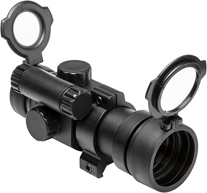"Hunt//1x30 Red//Green//Blue Dot rifle Scope Sight 3//8/""integrated rail mount 30mm #w"