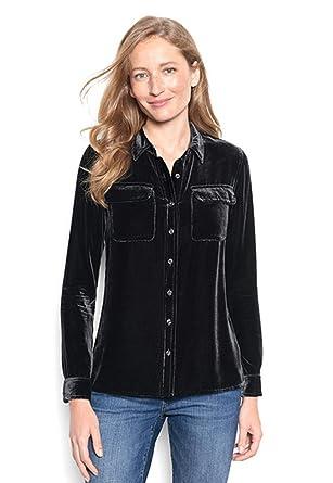 release info on modern design big sale Orvis Women's Easy Velvet Shirt at Amazon Women's Clothing ...