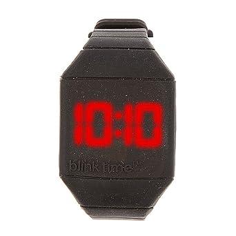 Claire s Accessories Niñas Blink Tiempo Negro LED Reloj