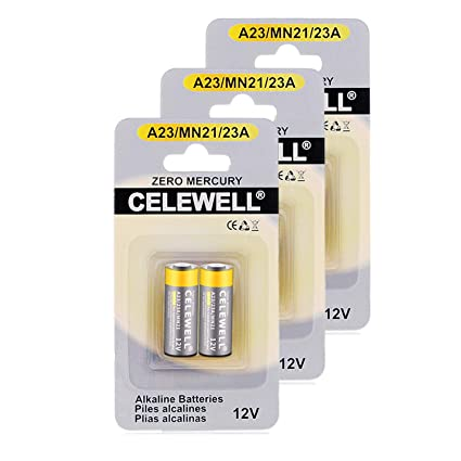 Amazon Garage Door Opener A23 Battery 12v Special High Capacity