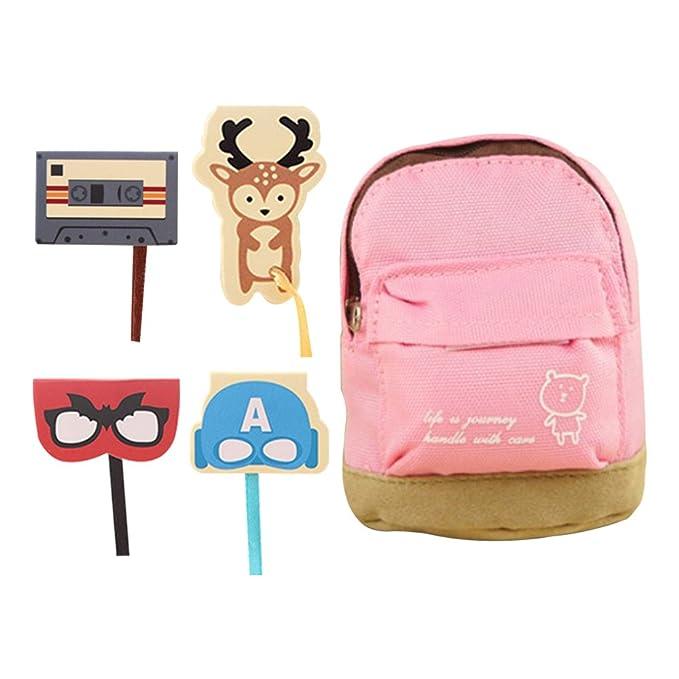 3 animales diferentes clips de marcadores magnéticos de alta calidad suministros de oficina marcadores de página magnética linda bolsa: Amazon.es: Oficina y ...