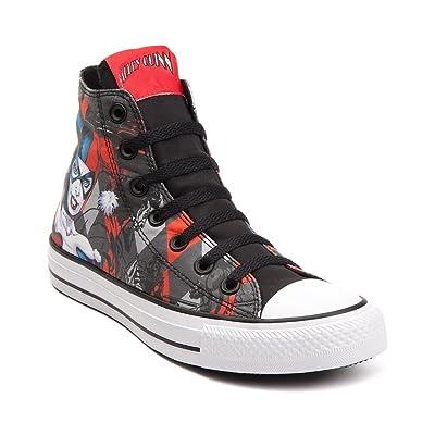 """New 2016"" Converse Chuck Taylor All Star Hi Harley Quinn Sneaker (Mens 10/womens 12)"