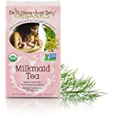 Earth Mama Angel Baby Organic Milkmaid Nursing Tea, 16 Teabags/Box (Pack of 2)