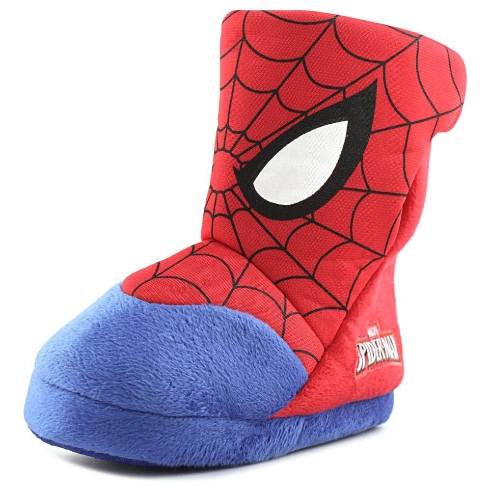 Favorite Characters Baby Boy's SPF247 Spiderman¿ Slipper Boot (Toddler/Little Kid) Red/Blue 1 X-Large M