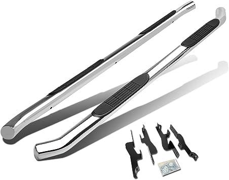 Running Board Side Step Nerf Bars 4in Black Fit Acura MDX//Honda Pilot 03-08