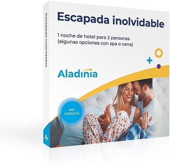 ALADINIA Caja Regalo Experiencias Escapada Inolvidable para Dos ...