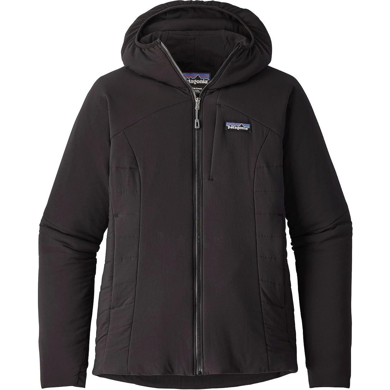 パタゴニア アウター ジャケットブルゾン Patagonia Nano-Air Hooded Jacket Women Black 1w4 [並行輸入品] B0742Y3T55