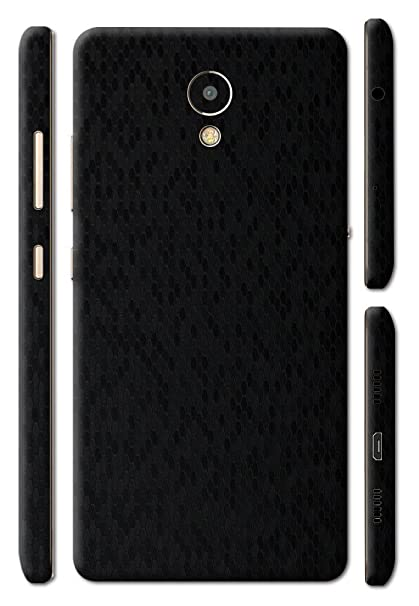GADGETS WRAP Black Honeycomb Skin for Lenovo P2 - Back