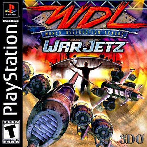 World Destruction League: War Jetz - PlayStation