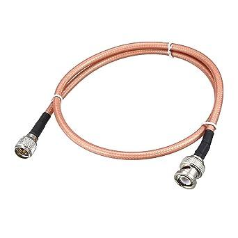 uxcell RG -142 - Cable coaxial RF de baja pérdida: Amazon.es ...