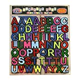 Alphabet and Letters Thick Gel Clings (56 pc) – Reusable and Removable Window Clings for Kids - CPSC Tested Safe Gel Decals Create Messages Like Welcome Home, Happy Birthday and More