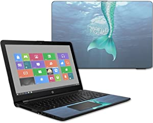 """Mightyskins Skin Compatible with Hp 15t Laptop 15.6"""" (2017) - Im Really A Mermaid   Protective, Durable, and Unique Vinyl Decal Wrap Cover   Easy to Apply, Remove, and Change Styles   Made in The USA"""