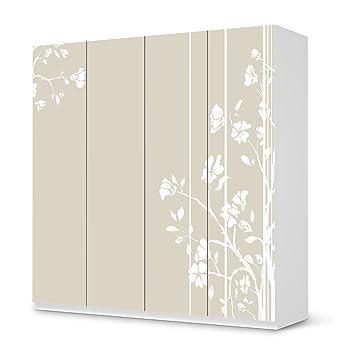 Klebefolie Sticker Tapete Für IKEA Pax Schrank 201 Cm Höhe   4 Türen | Möbel  Folieren