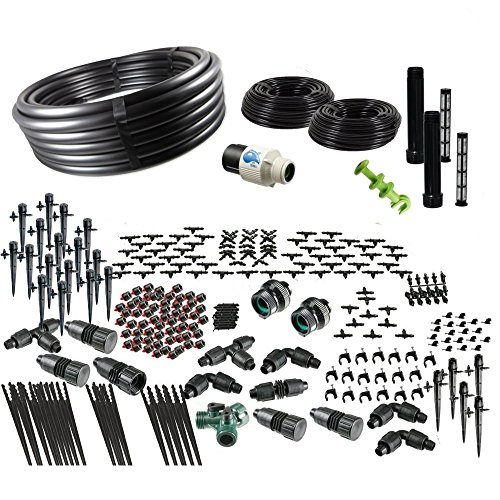 Drip Irrigation Kit for Container Gardening Ultimate Size - Water 120 Plants
