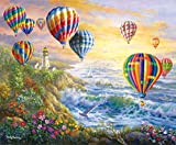 hot air balloon puzzle - Summer Glow 1000 pc Jigsaw Puzzle by SunsOut