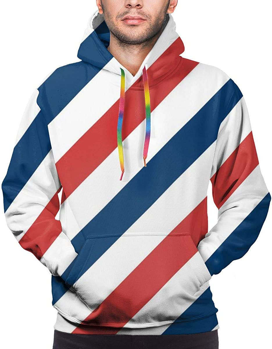 Mens Drawstring Hoodie Sweatshirts Fitted Sport Tops Multi Colored Staring Leopard Gecko Family XL