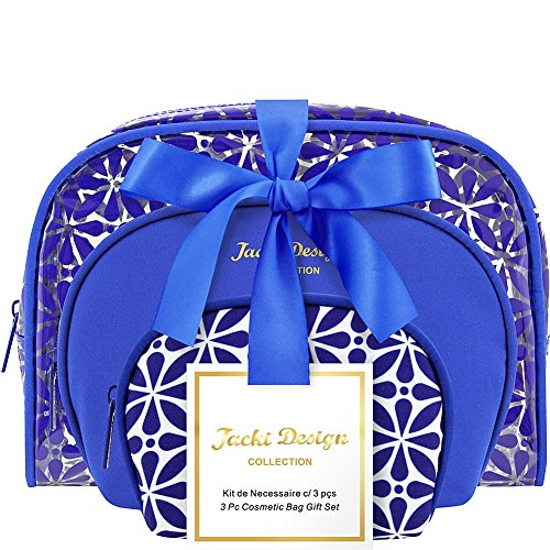 jacki-design-contour-3-piece-cosmetic-bag-set-blue