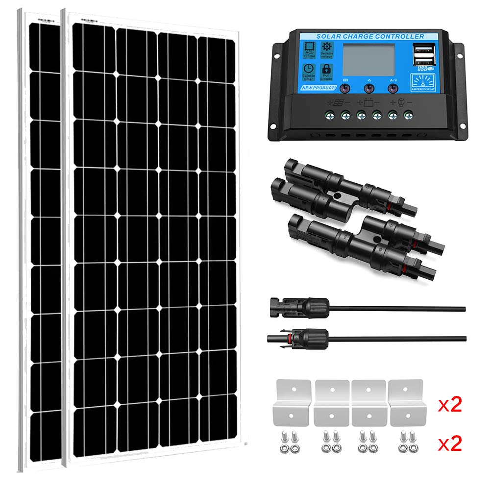 SUNGOLDPOWER Solar Panel 12V monocrystalline