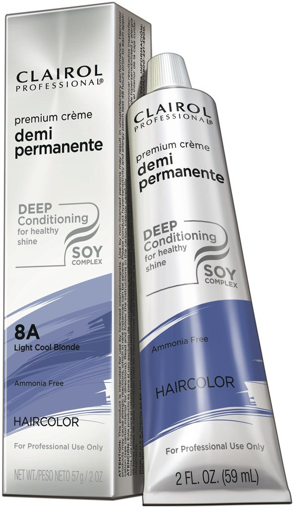 Amazon Clairol Premium Cream Demi Permanent Hair Color 8a