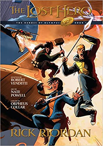 Heroes of Olympus, Book One the Lost Hero: The Graphic Novel ...