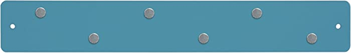 Three By Three Seattle Mini Magnetic Strip Bulletin Board, Sky Blue (31211)