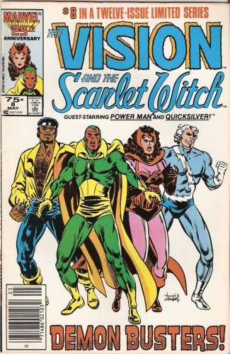 The Vision and the Scarlet Witch #8 Vol. 2 May 1986