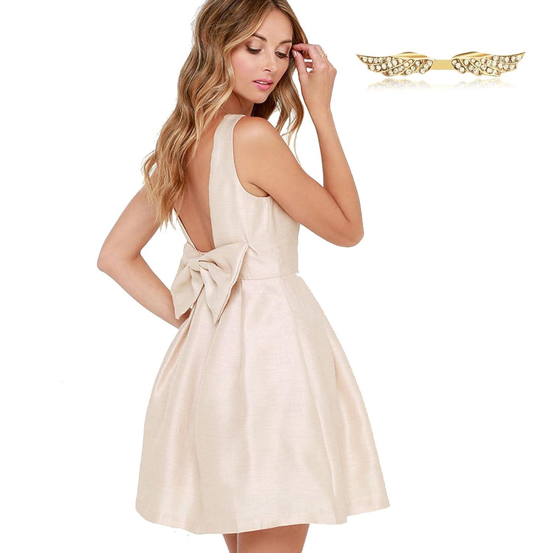 Angelwing Damen Kleider Sommerkleider Partykleider ...