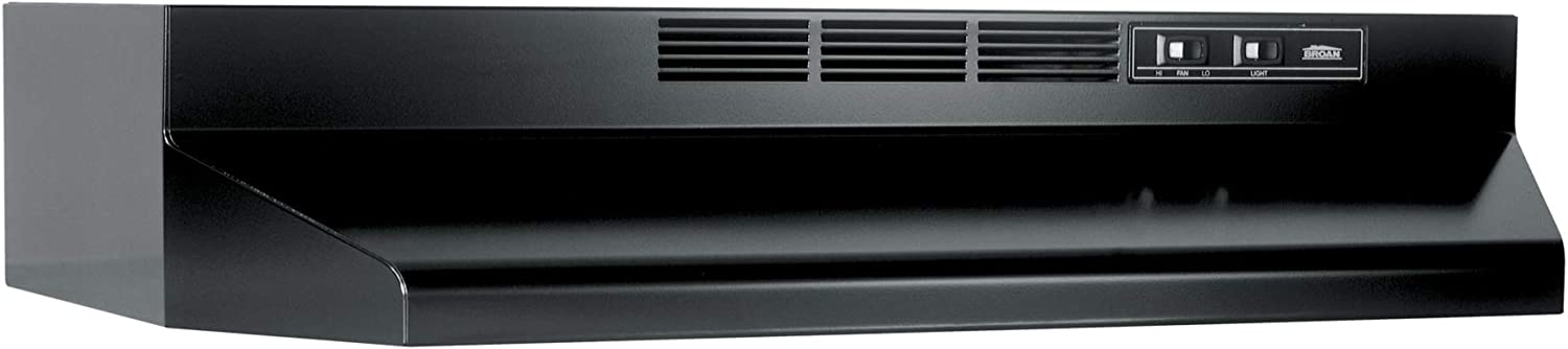 Broan-NuTone 413023 Ductless Range Hood Insert with Light, Exhaust Fan