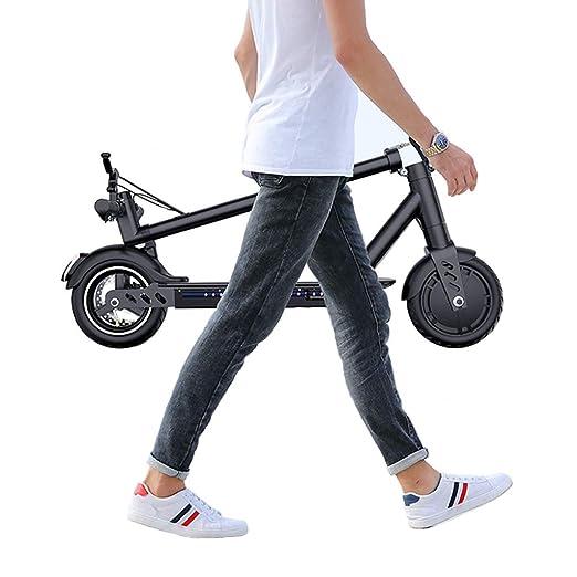Scooter Electrico Adulto,Plegable Patinete Eléctrico ...