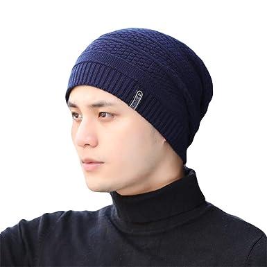 Feiboy Grueso Clásico Gorra Cómodo Lavable Crochet de Hats Suave ...