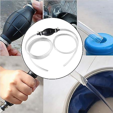 Amazon.com: Simplylin - Bomba de sifón manual de gasolina ...