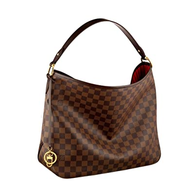 03beef7cf0a4 Louis Vuitton Damier Canvas Delightful MM Shoulder Tote Handbag Article   N41460 Made in France  Handbags  Amazon.com