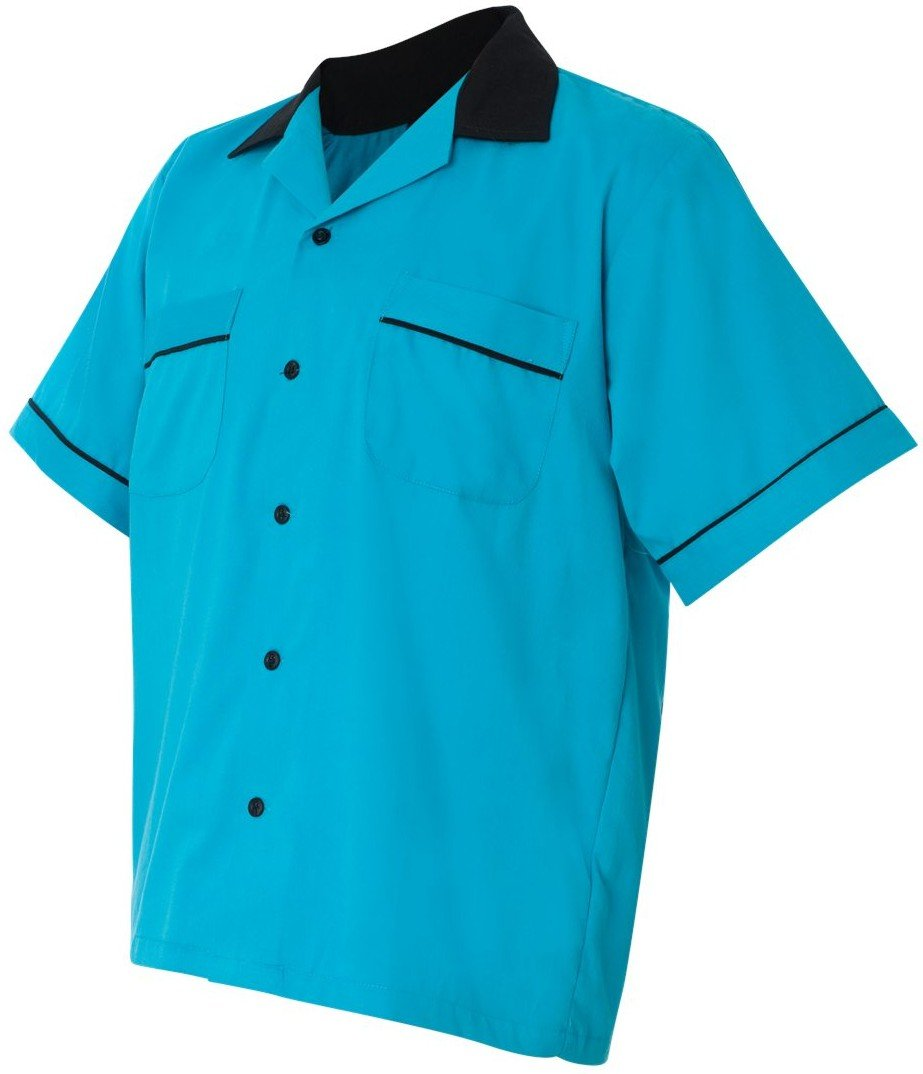 Hilton Bowling Retro Gm Legend (Turquoise_Black) (M) by Hilton
