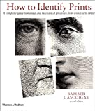 How to Identify Prints, Bamber Gascoigne, 0500284806
