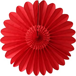 product image for 3-Pack 18 Inch Tissue Paper Fanburst (Red)